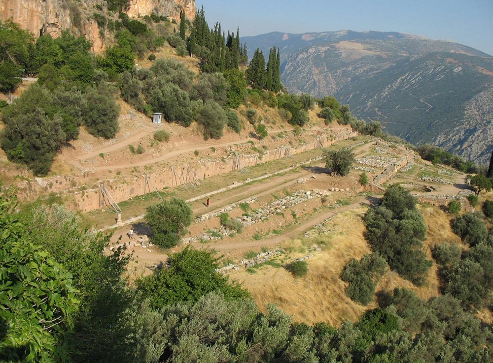 Dédicace de la bibliothèque de Delphes